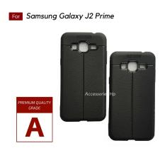 Accessories Hp Premium Ultimate Shockproof Leather Case For Samsung Galaxy J2 Prime - Black