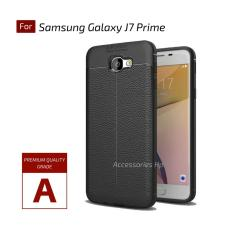 Accessories Hp Premium Ultimate Shockproof Leather Case For Samsung Galaxy J7 Prime - Black