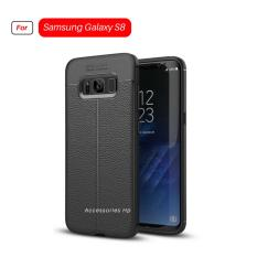 Accessories Hp Premium Ultimate Shockproof Leather Case For Samsung Galaxy S8 - Black