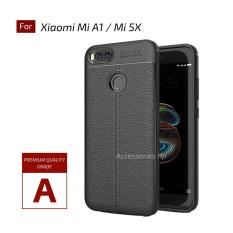 Accessories Hp Premium Ultimate Shockproof Leather Case For Xiaomi Mi A1 / Mi 5X - Black