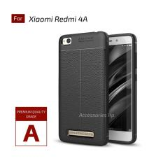 Accessories Hp Premium Ultimate Shockproof Leather Case For Xiaomi Redmi 4A - Black