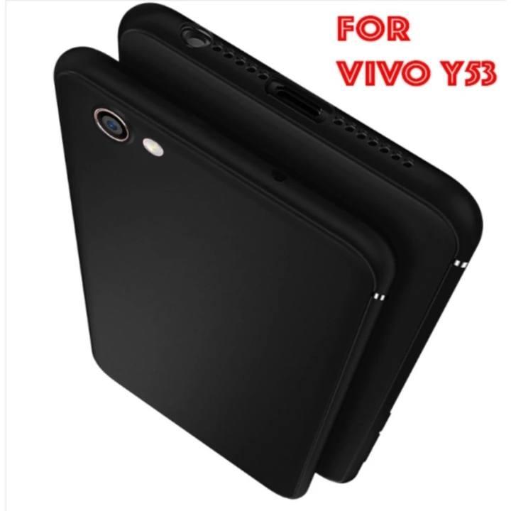 Accessories HP UltraSlim Black Matte Hybrid Case for VIVO Y53 - Black