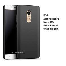 Accessories HP UltraSlim Black Matte Hybrid Case for Xiaomi Redmi Note 4X / Note 4 Versi Snapdragon 5.5 Inch - Black
