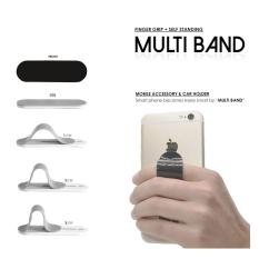 Accessories Hp Universal Multi Band Finger Grip Phone Holder Ring Stand Silicone For All Smartphone - 1pcs Random Color