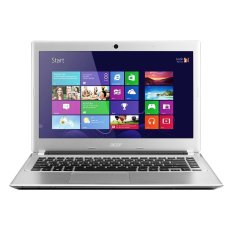 Harga Acer Aspire V5 132 10192G50Nbb Intel® Celeron® Processor 1019Y 1 Ghz Chili Silver Original