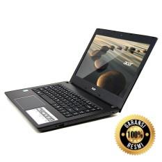 Acer E5-475-31TQ Grey CORE I3-6006 Ram 4GB Hardisk 1TB Windows 10 ORI Garansi resmi ACER bonus tas laptop acer (FREE ASURANSI)