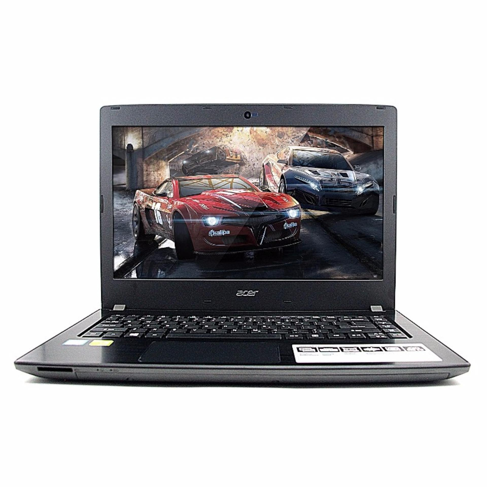 ACER E5 475G 541U CORE I5 7200 2,5GHZ RAM 4GB HDD 1TB NVIDIA 940 2GB NO OS 14inc