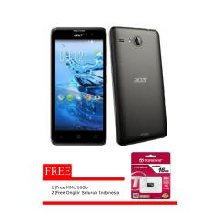 Acer Liquid Z520 1/8 Black Free MMC 16 Gb Free ongkir