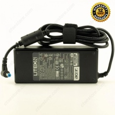ACER Original Adaptor Charger Notebook Laptop Aspire 7551 7745G 3010 3100 3650 3690 4710 4710G 5010 5020 5040 5100 5102WLMi 5110 5550 5610 5620 5630 5650 5670 5680 5910 6920 6930 6930G 6935 7000 7220 7230 7520 7530 7530G 19V 4.74 A Include Cable Power