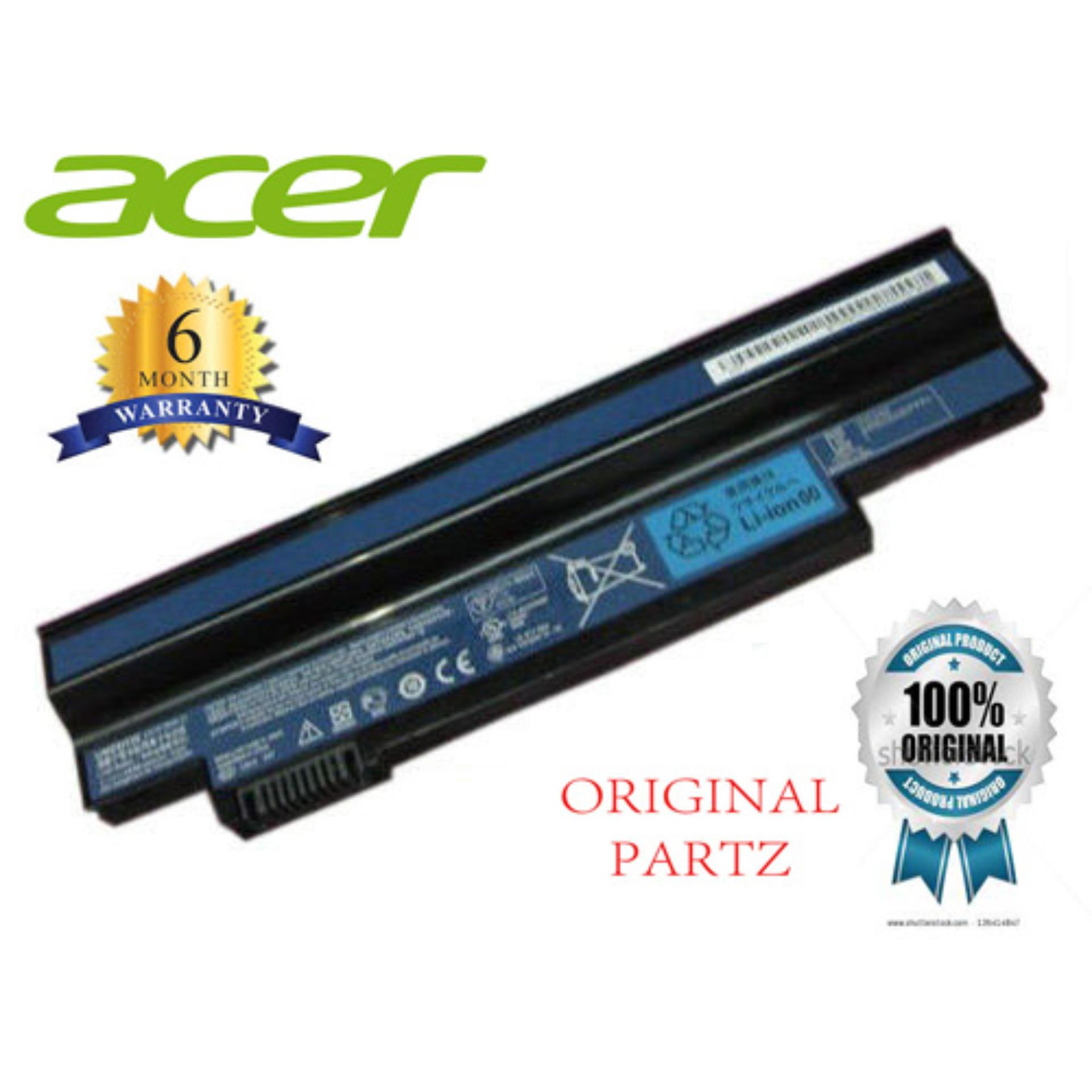 Harga Acer Original Baterai Notebook Laptop Aspire One 532H Hitam Black Termurah