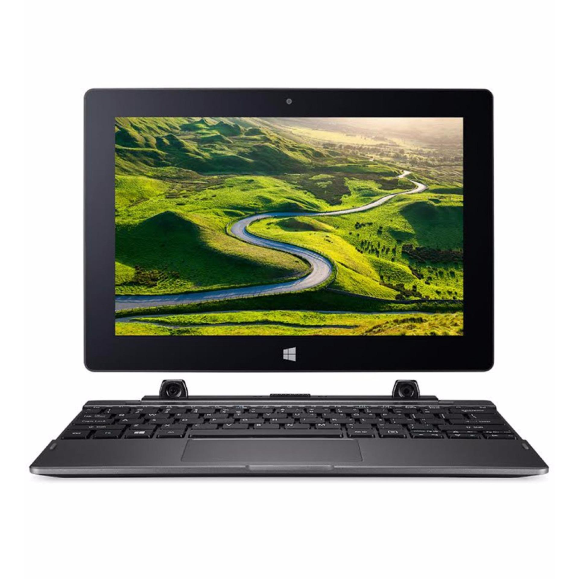 ACER Switch One SW1 011 10C4 - Intel Atom X5-RAM 2GB-EMMC 32GB HDD500GB-10.1 Inch-Touch Screen-Win 10 - Gray