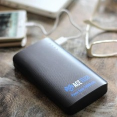 Acetech Power Bank 3 Port USB Fast Charging 20000mAh Powebank untuk Smartphone Handphone Iphone Samsing Xioami Oppo Vivo