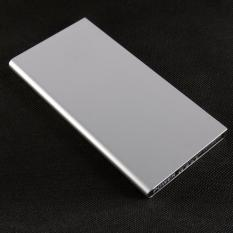 Promo Acetech Power Bank Slim Metal 12500Mah For Android Samsung Xiaomi Iphone Grey Acetech