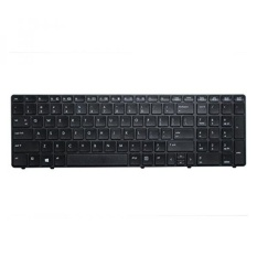 ACOMPATIBLE Replacement Keyboard for HP EliteBook 8560p / ProBook 6560b 6565b 6570b 6575b Laptop Black No Pointer - intl