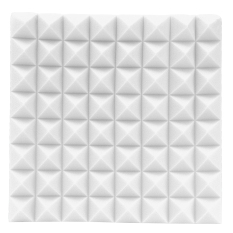 Beli Acoustic Soundproof Sound Stop Absorption Studio Foam 500Mmx500Mmx50Mm 1 Pc White Intl Seken