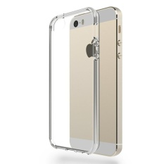 Acrylic Anticrack Mika Case  for iPhone 5 / 5S - Belakang Acrilic Keras - Pinggir Silicone Soft - Clear
