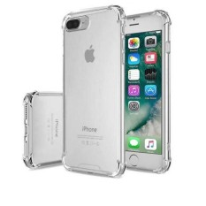 Acrylic Anticrack Mika Case for Iphone 6 Plus - Belakang Acrilic Keras - Pinggir Silicone Soft - Clear