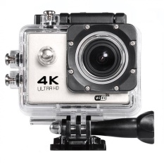 Action camera F60 Ultra HD 4K WiFi Underwater 30MSportsCamera2.0?x9D LCD 1080p 60fps Camera Car Recorder elmet CamDivingSportsDV(White) - intl