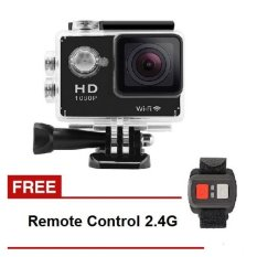 Spesifikasi Action Camera T4Shops W9 1080P Full Hd Wifi 2 Inch Screen Remote Hitam Murah Berkualitas
