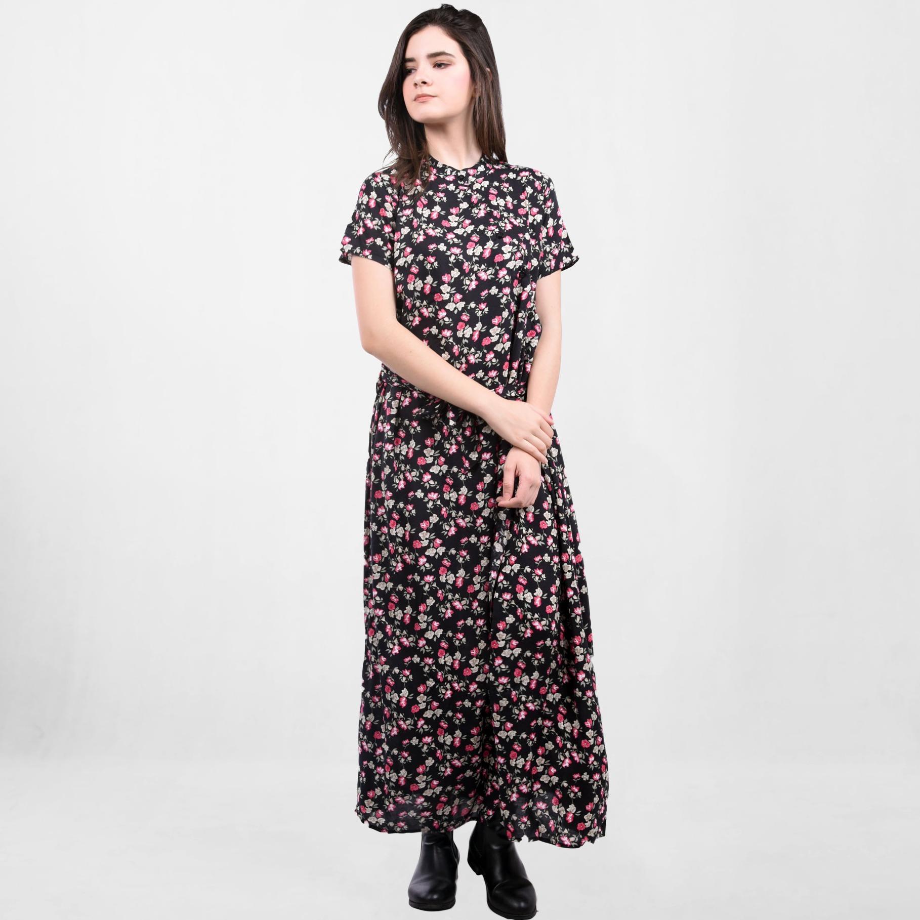 Beli Ada Fashion Dress Lengan Pendek Wanita Sanghai Indonesia