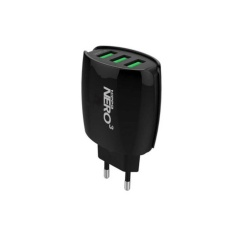 Diskon Besaradapter Charger Hippo Nero 3 3 Ports 3 8A Value Pack Black