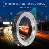 Review Tentang Adapter Ring For Minolta Md Lens To Canon Eos 100D 600D 650D 700D No Glass