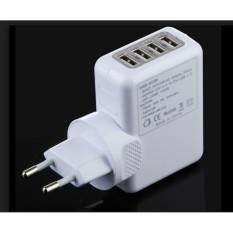Adaptor Charger 4 USB Termurah Fast Charging