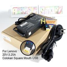 Adaptor / Charger Laptop LENOVO 20V-3.25A Square Mouth 1390