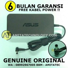 Adaptor Charger Laptop ORIGINAL Asus 19V 6.32A 120W Gaming ROG GL552 Series