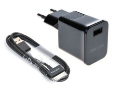 Beli Barang Adaptor Travel Charger For Samsung Galaxy Tab Adapter Usb Cable Hitam Online