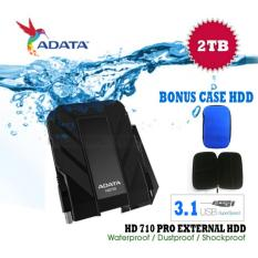 Toko Adata Hardisk External 2Tb Usb 3 1 Hd710 Pro Bukan Yang Biasa Antishock Waterproof Dustproof Ext Hardisk Adata 710 Pro Ext Hdd Hitam Gratis Case Hdd Termurah Di Dki Jakarta
