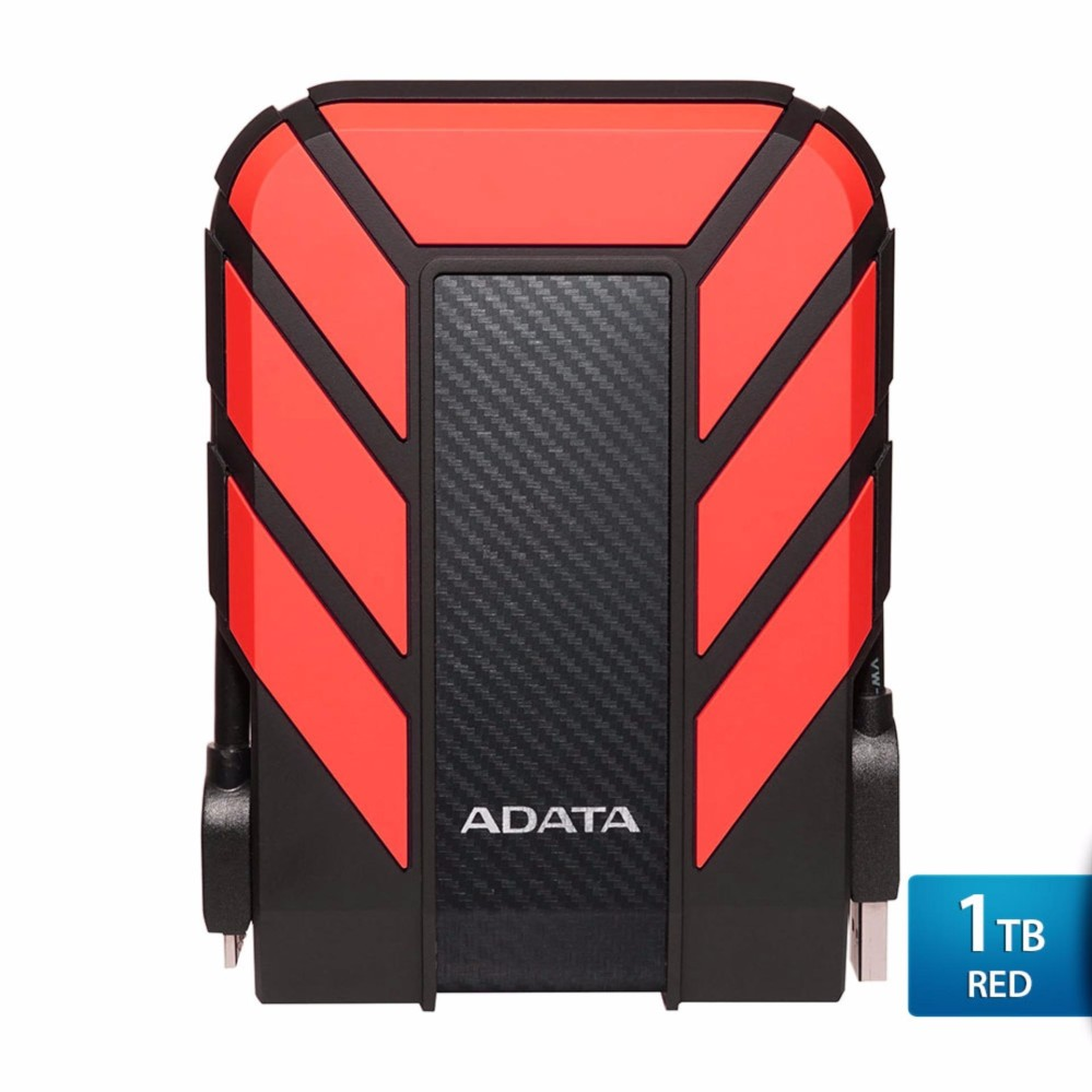 Spesifikasi Adata Hd710 Pro Red Hard Disk Eksternal Usb3 1 Anti Shock Waterprooff Lengkap Dengan Harga