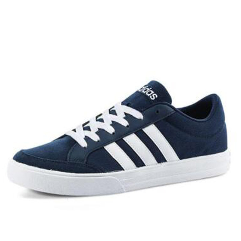 Adidas Sepatu Sneakers Musim Panas Baru Sepatu Memakai Sepatu (Warna kayu/1 hitam/biru cerah)
