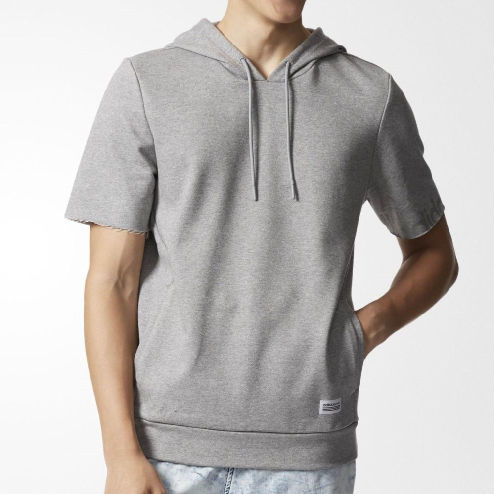 Jual Adidas M Up Ss Hoodie Bk6838 Abu Grosir