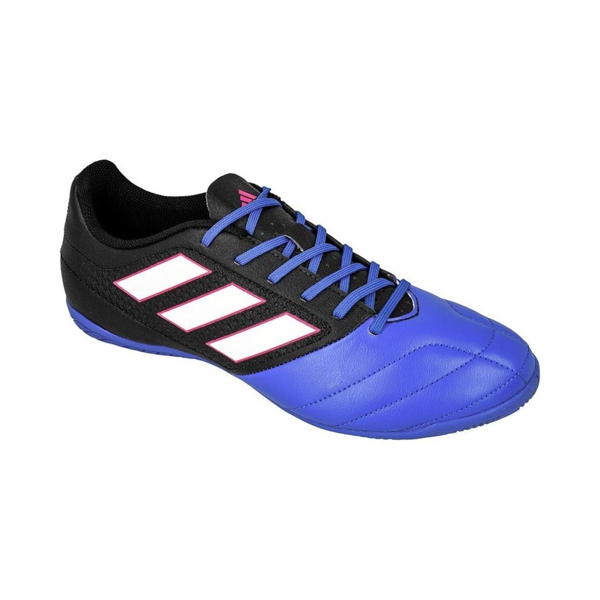 Ulasan Lengkap Tentang Adidas Sepatu Futsal Ace 17 4 In Bb1767 Biru