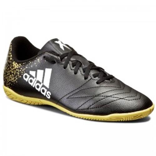 Jual Adidas X16 4 In Bb 3814 Sepatu Futsal Black Gold Di Bawah Harga