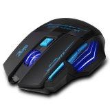 Harga Yg Dpt Mengatur 2400 Dpi Optik Mouse Game Nirkabel Permainan For Laptop Pc Hitam And Biru Gratis Pengiriman Original