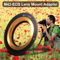 Bisa Disesuaikan Adaptor Konfirmasi untuk M42 Lensa untuk Canon EOS Adaptor Kamera Cincin Dc703