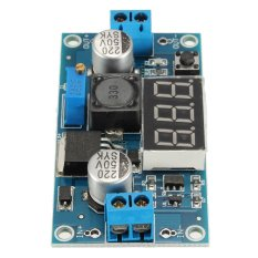 Harga Adjustable Lm2596 Step Down Dc Dc Converter Power Module With Digital Display Branded