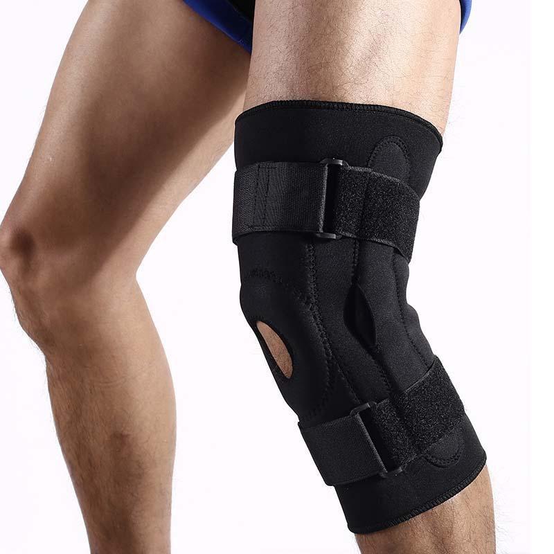 Beli Adjustable Lutut Medis Orthosis Brace Support Bernapas Olahraga Cedera Menjalankan Olahraga Climbing Hiking Nyeri Lutut Bantalan Internasional Dengan Kartu Kredit