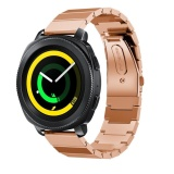 Ulasan Lengkap Adjustable Stainless Steel Gelang Smart Watch Band Strap Metal Clasp Untuk Gear Sport Smart Watch Intl