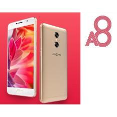 Advan A8 5.5 Inch Smartphone - Gold [32GB/ RAM 4GB] Gold