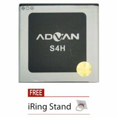 Beli Advan Battery For Advan S4H 1300 Mah Free Iring Stand Online Indonesia