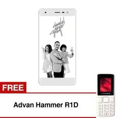 Advan G1 Pro -3GB/32GB - Gold + Free Advan Hammer R1D