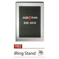 Advan Original Battery - Baterai Original Advan S5E New - 2500 mAh + Free i-Ring Stand
