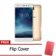 Review Advan Vandroid G1 Pro Gold Free Flipcover Merah Advan Di Dki Jakarta