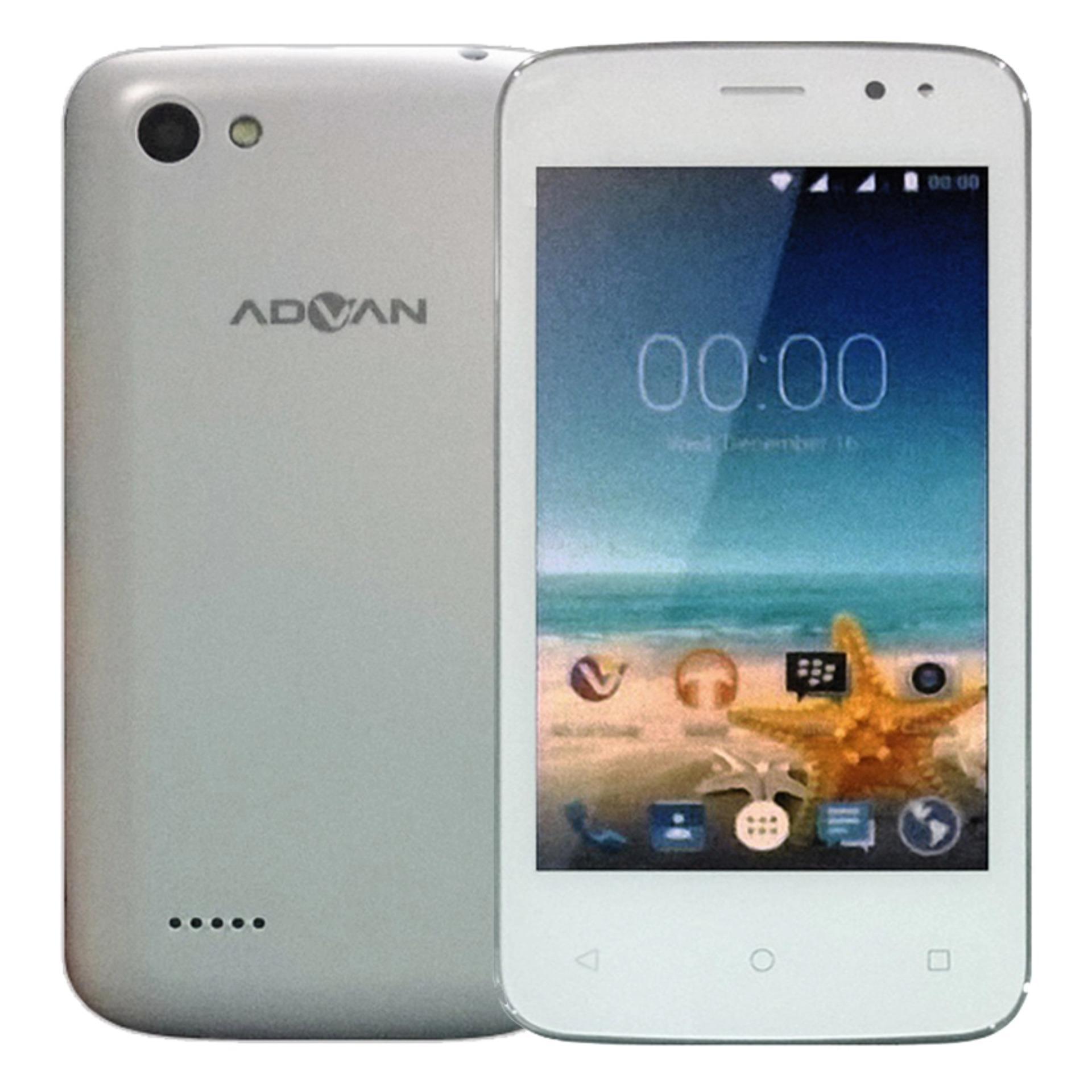S4t Info Harga Terbaru Hanya Untuk Anda Advan Hammer R3e Handphone Putih Vandroid 4gb