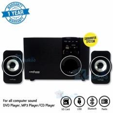 Beli Barang Advance Digital Speaker Xtra Power Sound 180Btx Subwoofer System Bluetooth Hitam Online