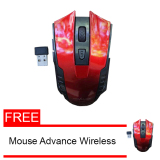 Harga Advance Digitals Mouse Wireless Wm501 Merah Free Mouse Advance Wm501 Yang Murah