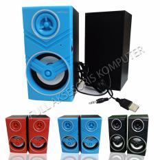 Advance Duo-080 Speaker Komputer USB With Volume Control - Biru